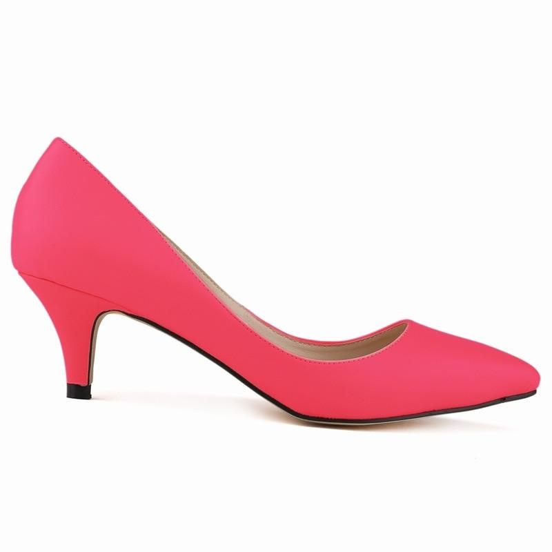 Tacones Mujeres verde Las azul Bajo blanco naranja Tacón rosa rosado Zapatos Bombas De Beige Nuevas negro azul Estrecha Mujer Superventas rojo Flock Cielo Partido Punta Altos 2017 vt51wqU4