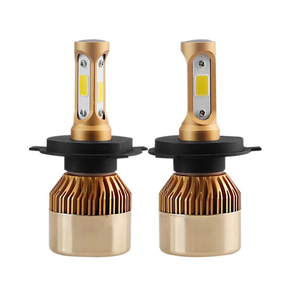 DARKEYE H1 LED H4 H11 H7 9005 9006 H8 H3 H9 880 9007 Car Headlight Bulbs 60W 8000LM 6500K 4300K 8000K 3000K COB led Lamp 2PCS