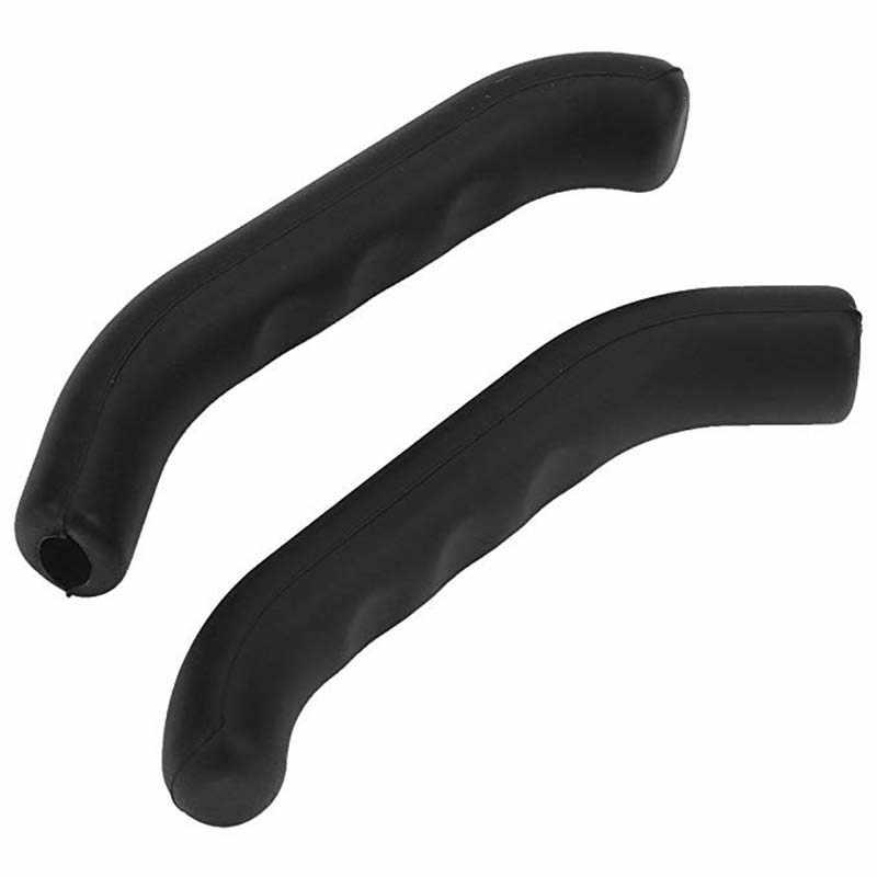 2 sztuk uniwersalny żel silikonowy hamulca dźwignia uchwytu pokrywa do roweru szosowego i górskiego jazda na rowerze pokrywa ochronna rękaw osłaniający MTB kolarskie