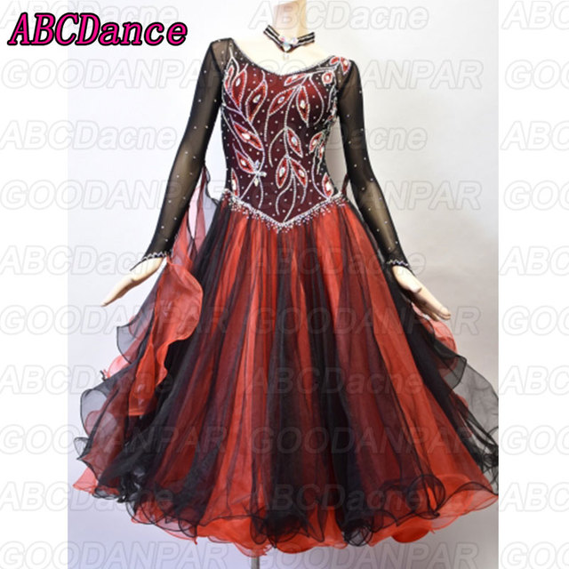 2018 new ballroom dance competition dresses, Waltz dance dress,standard ballroom dress