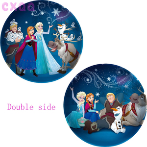 Image 3 - 60pcs 18inch Elsa Anna foil balloons Frozen Queen Princess ballon birthday party decoration baby shower supplies child toys