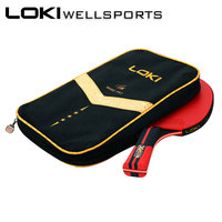 LOKI Table Tennis Racket Ping Pong Racket Colorful Blade Bat Kalemlik Sticky Attack Quality Pimples In Rubber With Pingpong Bag