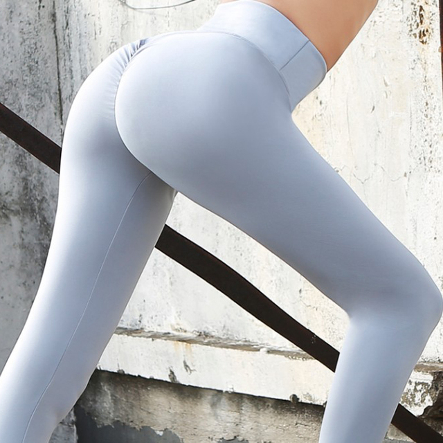 14c2705764bf6 Yoga Leggings Pants Women's Clothing Of Large Sizes High Waist Tights Woman  Sports Fitness Sports Wear For Women Gym HWA1862-49