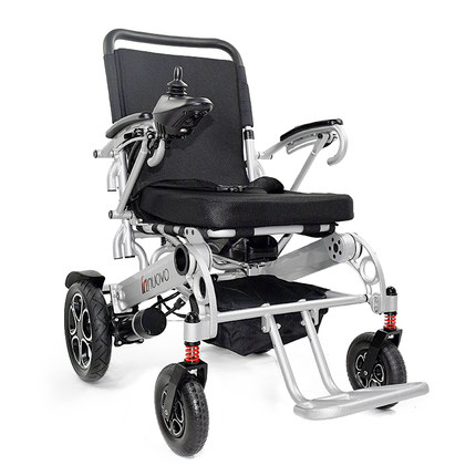 Lightweight good quality big seat width 53cm electric font b wheelchair b font for elder and