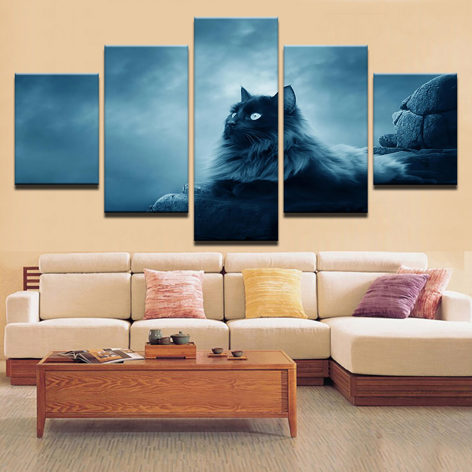 Framed Canvas Wall Art Pictures HD Prints Living Room Home ...
