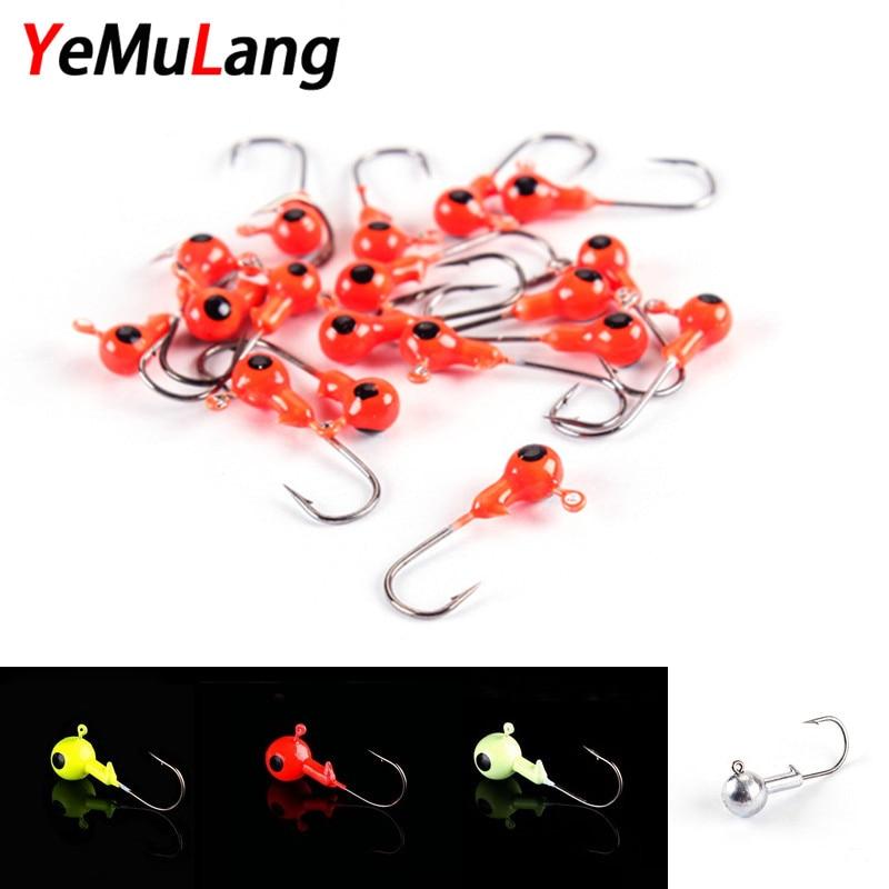 Analytical 2pcs/lot Lead Hook 1.8g/2.5g/3.5g/5g/7g/10g/12g/14g Jigs Bait Fishing Hooks For Fishing Tackle Red/yellow/silver/luminous Modern And Elegant In Fashion Fishhooks Fishing