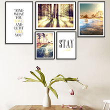 Modern Minimalist Seaside Scenery Canvas Painting Art Print Abstract Poster Picture Wall Living Room Bedroom Home Decoration 41xdzs 151 159 160 162 4pcs chinese abstract scenery print art