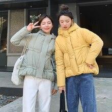 купить Winter Down Cotton Jacket Women Parka Warm Thick Abrigo Mujer Coat Women Outerwear Plus Size Down Jacket Woman Hooded Coat по цене 1307.18 рублей