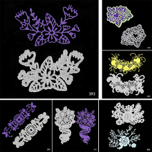Plant and Flowers Metal Cutting Dies Scrapbooking Embossing DIY Decorative Cards Cut Stencils