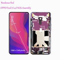 Original New 6.42 Inch With Frame LCD Display Touch Screen Digitizer Assembly For Oppo FIND X Findx Replacement Screen
