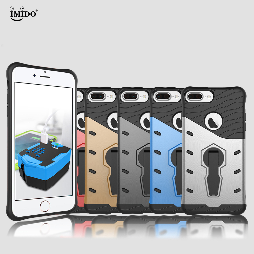 Hybrid cover For iphone 7 plus case Cover Apple 7plus Rotation Kickstand Case For 5.5 iphone7 plus phone case iphone 7plus