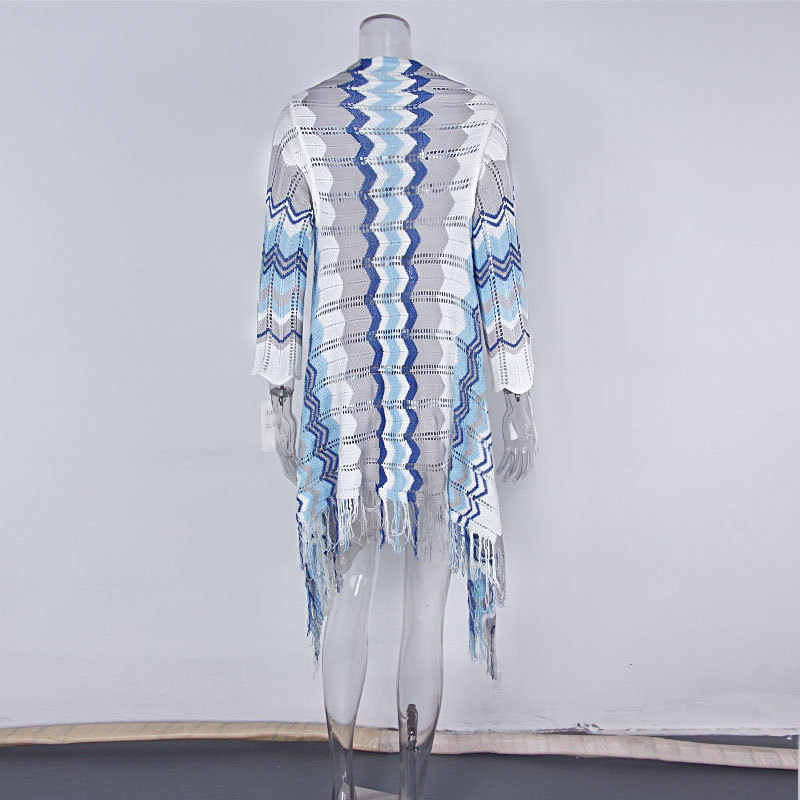 Летний длинный кардиган женский modis свитер Харадзюку корейский стиль Женские топы и блузки свитера женская уличная одежда