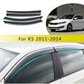 ABS автомобильный Дымовое Окно Солнцезащитный козырек дефлектор для Kia K5/Optima 2011 2012 2013 2014 аксессуары 4 шт.