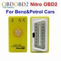 NitroOBD2 Para A Gasolina Carros Benzina Nitro Caixa de Chip Tuning OBD Plug And Drive Nitro Ferramenta OBD2 Mais Power & Torque poder prog