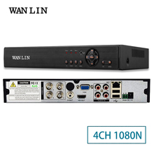 WANLIN 4CH CCTV 1080N AHD-M/N DVR Hybrid DVR/NVR Register Digital Video Recorder P2P Cloud Support 1080P Analog/AHD/IP Camera