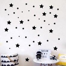 150pcs DIY Stars Wall Sticker Baby Nursery Wall Decals Removable Vinyl Mural Wallpaper For Kids Room