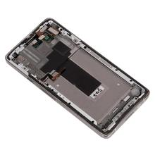 display assembly with touchscreen for Huawei for Ascend D2, white