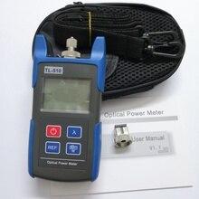 Conectores óticos do verificador fc/sc do cabo da fibra ótica do medidor de potência da elevada precisão tl510