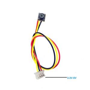 Image 2 - SMTKEY Small mini 600TVL CMOS Color CCTV Camera FPV Camera for quadcopter 5x5mm size SMTKEY