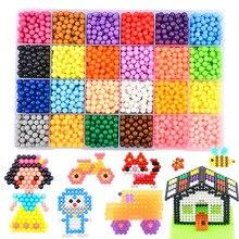 7200 шт. набор DIY волшебные шарики головоломки распыления воды образования бисера ручной работы игрушечные лошадки для детей Образование