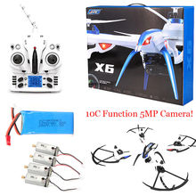 JJRC H16 Tarantula X6 Rc Helicopter 4CH RC Quadcopter Drone 5MP Cam Hyper IOC+4 Motor+Battery