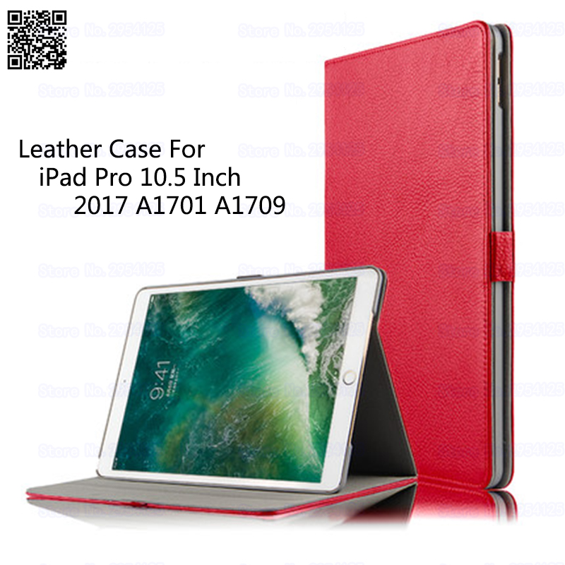 Leather Case For iPad Pro 10.5 Inch 2017 A1701 A1709 Tablet PC Smart Cover Wake Sleep Stand Protective Shell/Skin Stylus As Gift tablet cover for ipad pro 10 5 inch detachable bluetooth keyboard case for 2017 ipad 10 5 a1701 a1709 stand cases