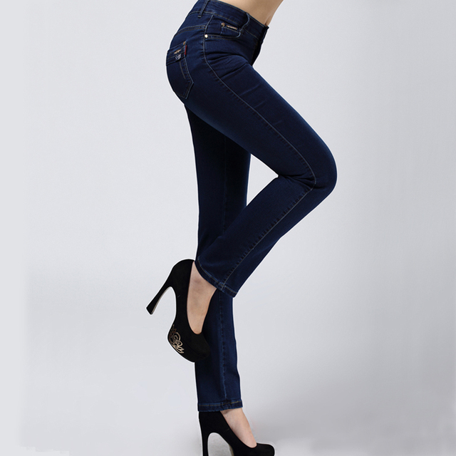 Plus Size Skinny Jeans Woman