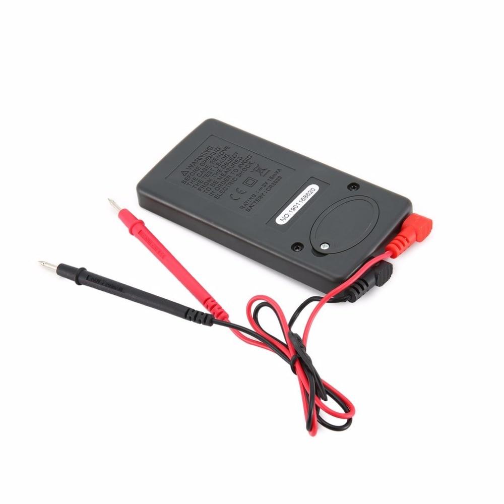 dc tensão amperímetro tester resistor diodo continuidade