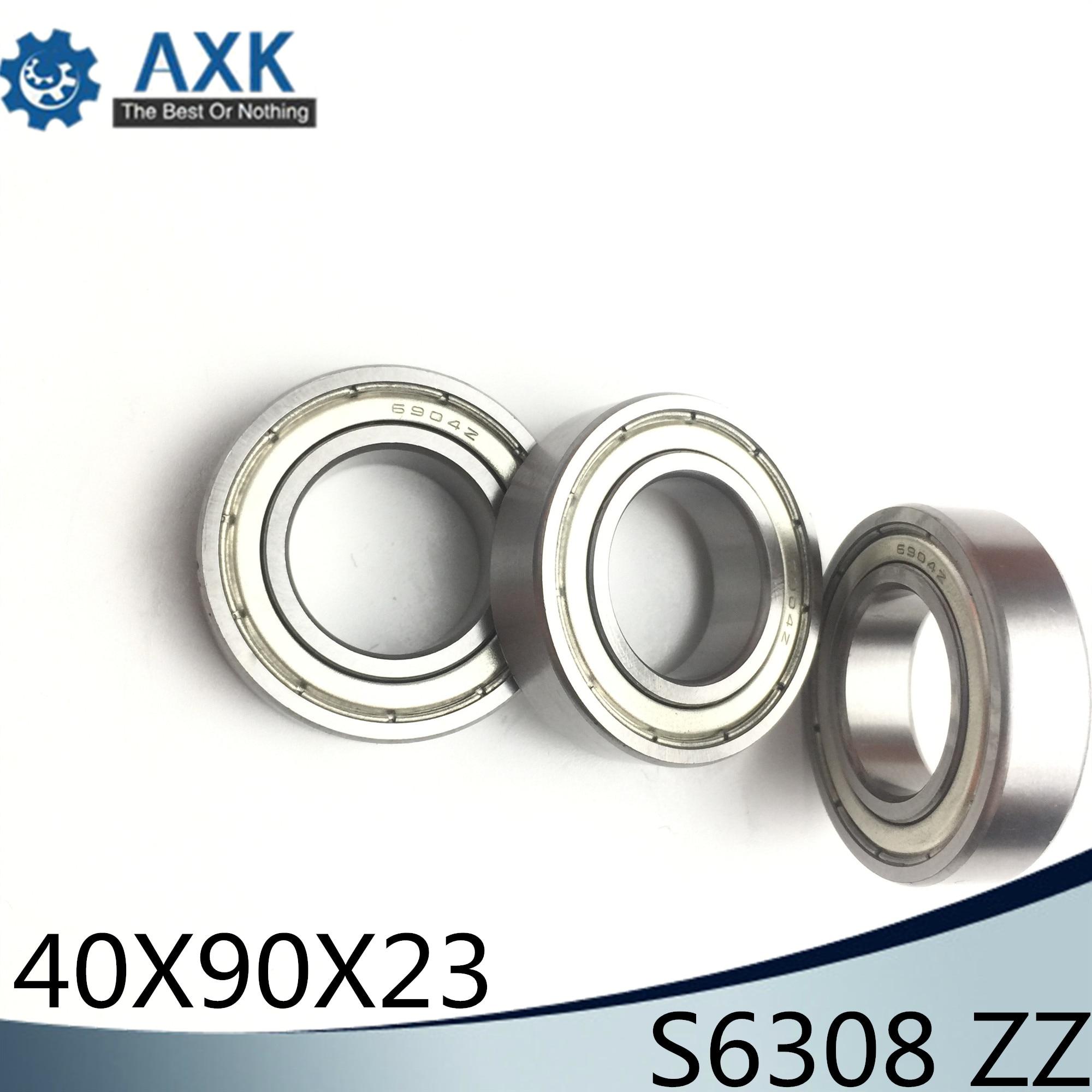 S6308ZZ roulement 40*90*23mm (1 PC) ABEC-1 S6308 Z ZZ S 6308 440C acier inoxydable S6308Z roulements à billes
