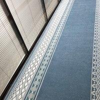 Nordic de bambu corredor tapete área tapetes quarto sala estar tapetes corredor tapete casa decoração do hotel personalizado feito