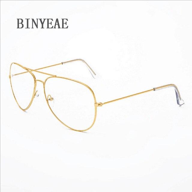 3da6ff9df8e MERRY S Fashion Women Titanium Glasses Frames Men Brand Titanium Eyeglasses  Gold Shield Frame With Glasses