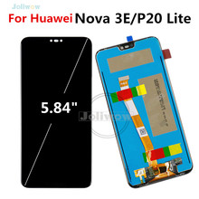 купить 5.84 Inch For Huawei P20 Lite LCD Display Touch Screen Digitizer Assembly Glass Panel Digitizer For Huawei Nova 3E lcd Repair по цене 1484.91 рублей