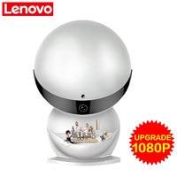 Lenovo WiFi IP Camera Snowman Wireless Mini HD 1080P Monitor Video Cctv Security Smart Camera Remote