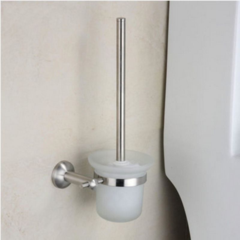 popular brushed nickel toilet brush holder buy cheap brushed nickel toilet brush holder lots. Black Bedroom Furniture Sets. Home Design Ideas