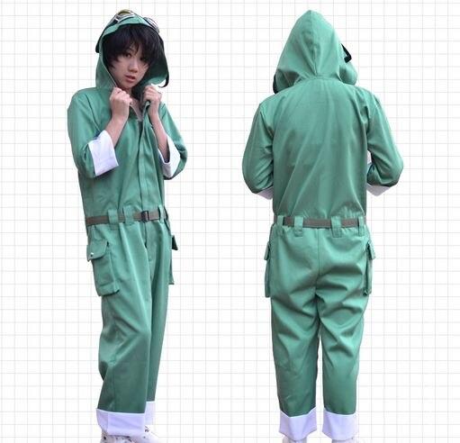 Nouveauté Kagerou Project MekakuCity acteurs Kousuke Seto Cosplay Costume à capuche combinaison combinaison Costume tenue + perruques 61304