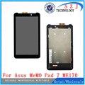 Новый 7 ''дюймов Для ASUS Fonepad FE7010CG FE170CG ME170 K012 k017 ЖК-Дисплей с Сенсорным Экраном Дигитайзер Датчик Бесплатная доставка