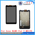 New 7'' inch For ASUS Fonepad FE7010CG FE170CG ME170 K012 k017 LCD Display with Touch Screen Digitizer Sensor Free shipping