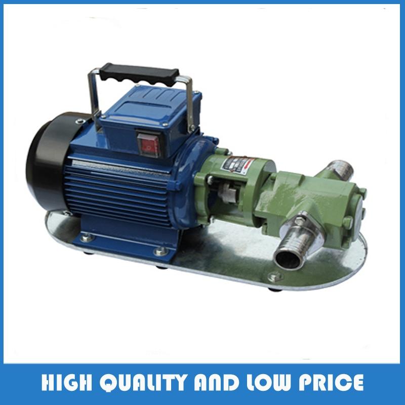 WCB-30 370w 30l/min electric oil pump gear pump high viscosity gear oil pumps wcb 100 cast iron portable electric gear thermal heavy oil pump