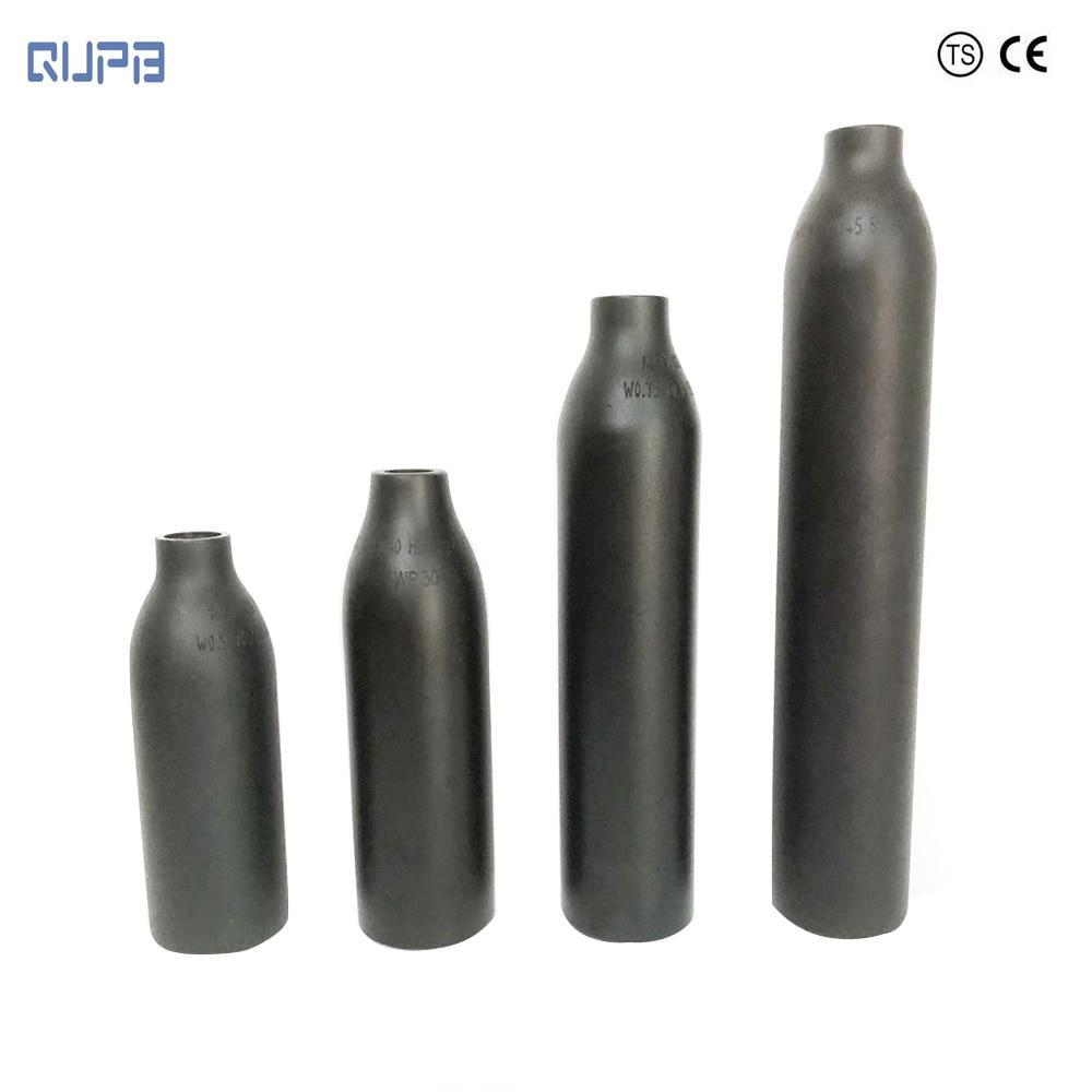 QUPB PCP Paintball 4500PSI High Pressure Cylinder 5/8-18 UNF Thread 0.2L 0.26L 0.35L 0.45L
