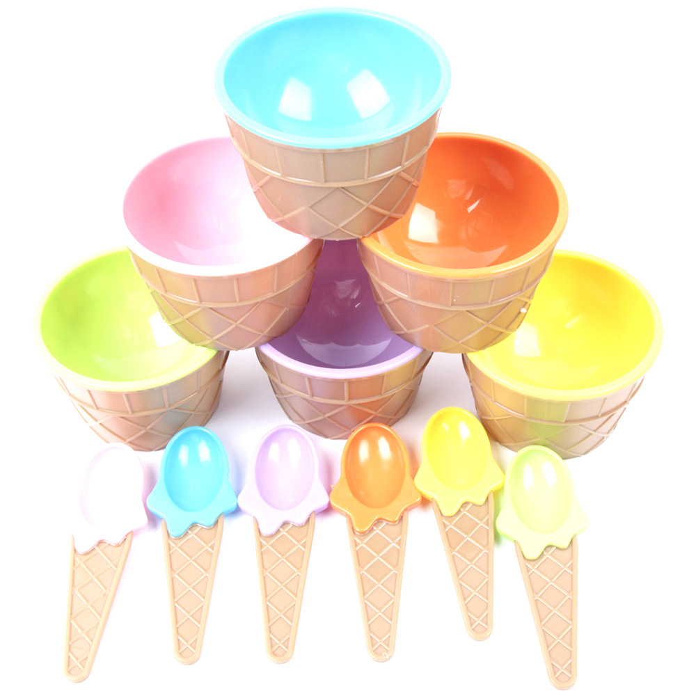 Medium Of Ice Cream Bowls