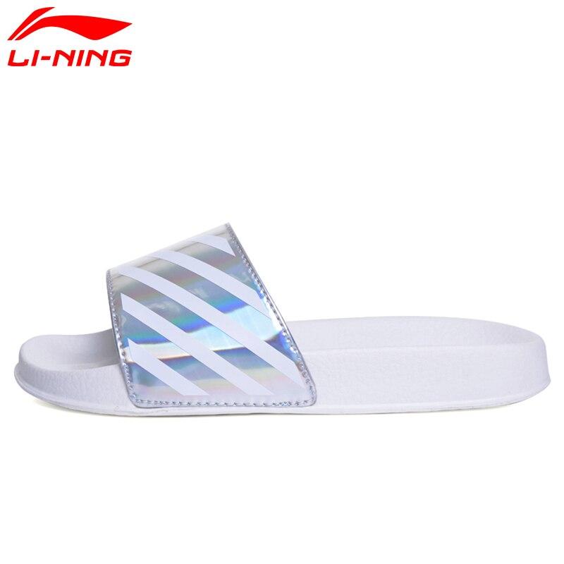 Li-Ning Для женщин спортивной жизни Классические босоножки легкий удобный подкладка пляж и открытый Обувь glsm002 yxb072 ...