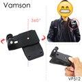 Go Pro Аксессуары 360-градусный поворот Зажим Для GoPro Hero 4 3 + 3 2 1 Xiaomi yi SJCAM SJ4000 Спорт Действий Камеры VP512