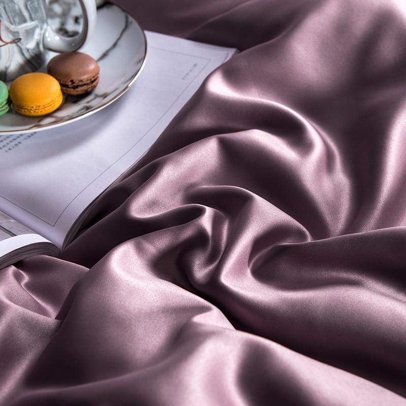 (10)  White silver cotton imitate silk luxurious Bedding Set queen king measurement mattress set Bedsheets linen Europe embroidery Quilt cowl set HTB1QNgOgLuSBuNkHFqDq6xfhVXac