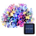 Solar String Lights 50 Led Blossom Flower Fairy Light Christmas Lights for Outdoor LED Garland Patio Party Wedding Decoration