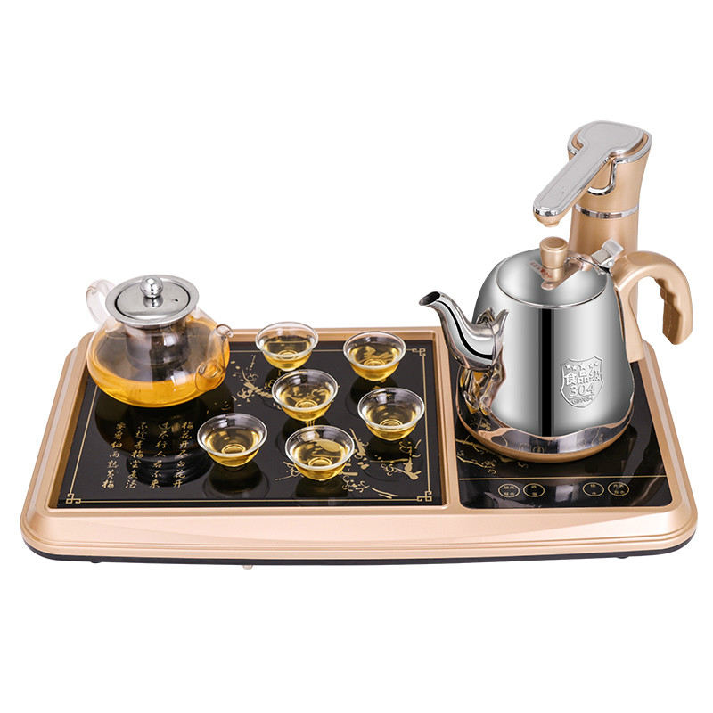 automatic upper water electric kettle  tea furnace three-in-one Safety Auto-Off Functionautomatic upper water electric kettle  tea furnace three-in-one Safety Auto-Off Function