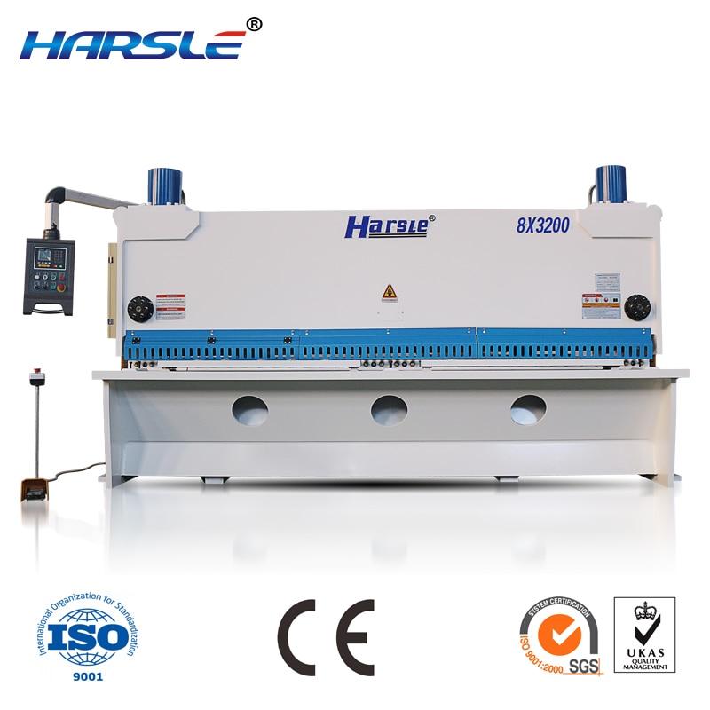 guillotine machine cut metal sheet, Hydraulicmetal sheet cut