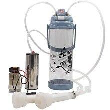 Livestock Cow Goat Sheep Electric Milking Machine Automatic Vacuum Pump Penis Impulse Milker 3L/0.8 Gal