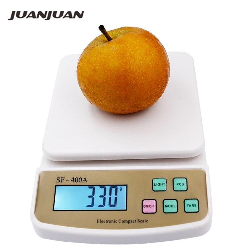 10 kg X 1g Digital Post obst Küche Diät zählen waage elektronische waagen mit hintergrundbeleuchtung 20% off