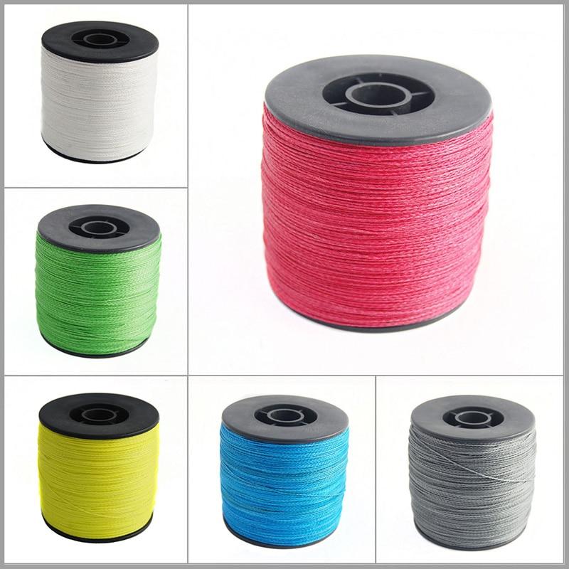 500m 6 colors pe braided fishing line 4 strands 100lb for Braided fishing line for saltwater