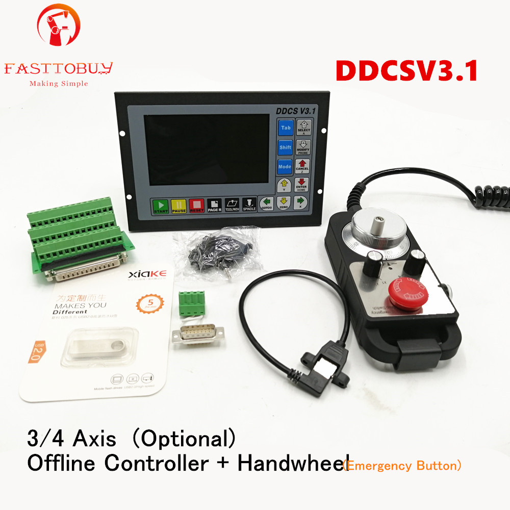 3 Axis CNC Controller kits Offline Stand Alone Replace Mach3